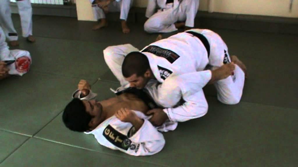 Double Underhook Lapel Pass to Back Take- Rodolfo Vieira