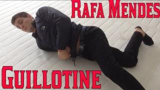 Guillotine Choke from Half Guard- Rafael Mendes