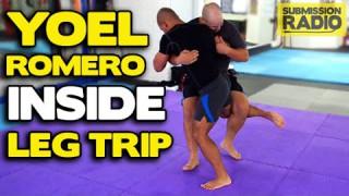How to do a Yoel Romero Inside Leg Trip Takedown