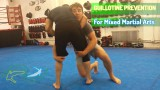 How to prevent guillotine chokes when attempting the takedown