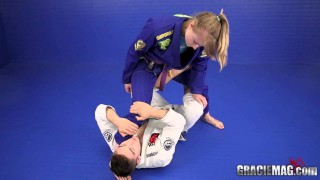 Inverted De La Riva to X-Guard Sweep- Gianni Grippo