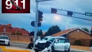 Jon Jones hit & run 911 call & Police camera footage