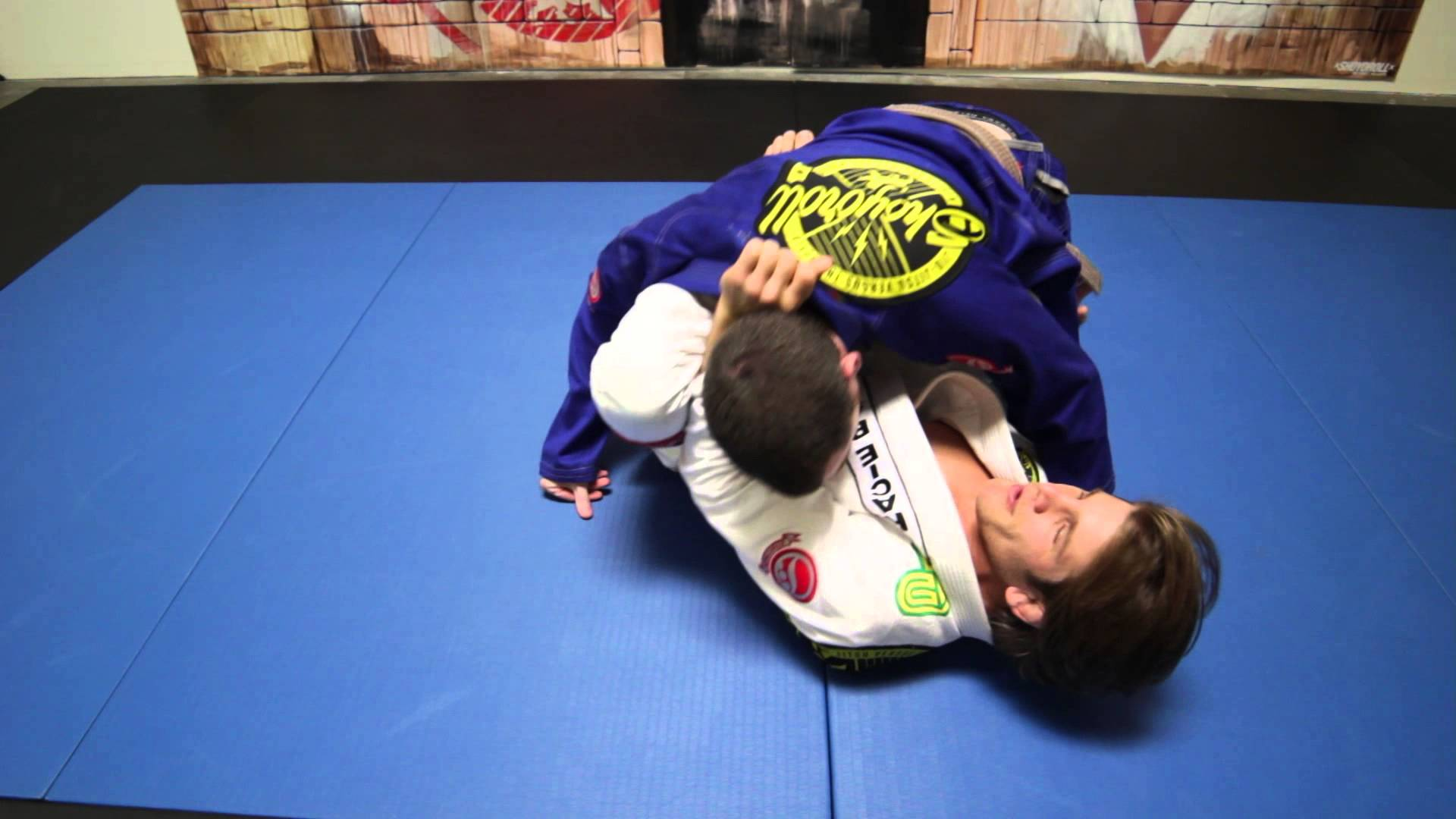 Lapel Choke set up from Lasso- AJ Agazarm