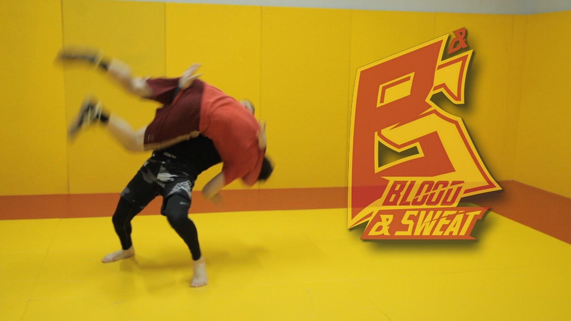 Russian Technique: Escape guillotine with a throw