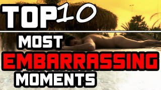 Top 10 Embarrassing Moments in MMA