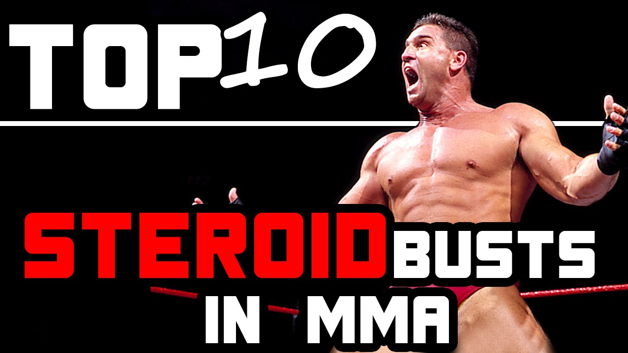 TOP 10 Steroid Busts in MMA