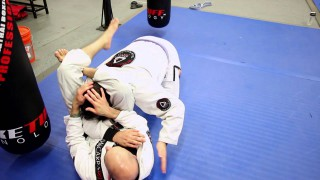 Unique Set Up to Triangle from Kesa Gatame- Brad Wolfson