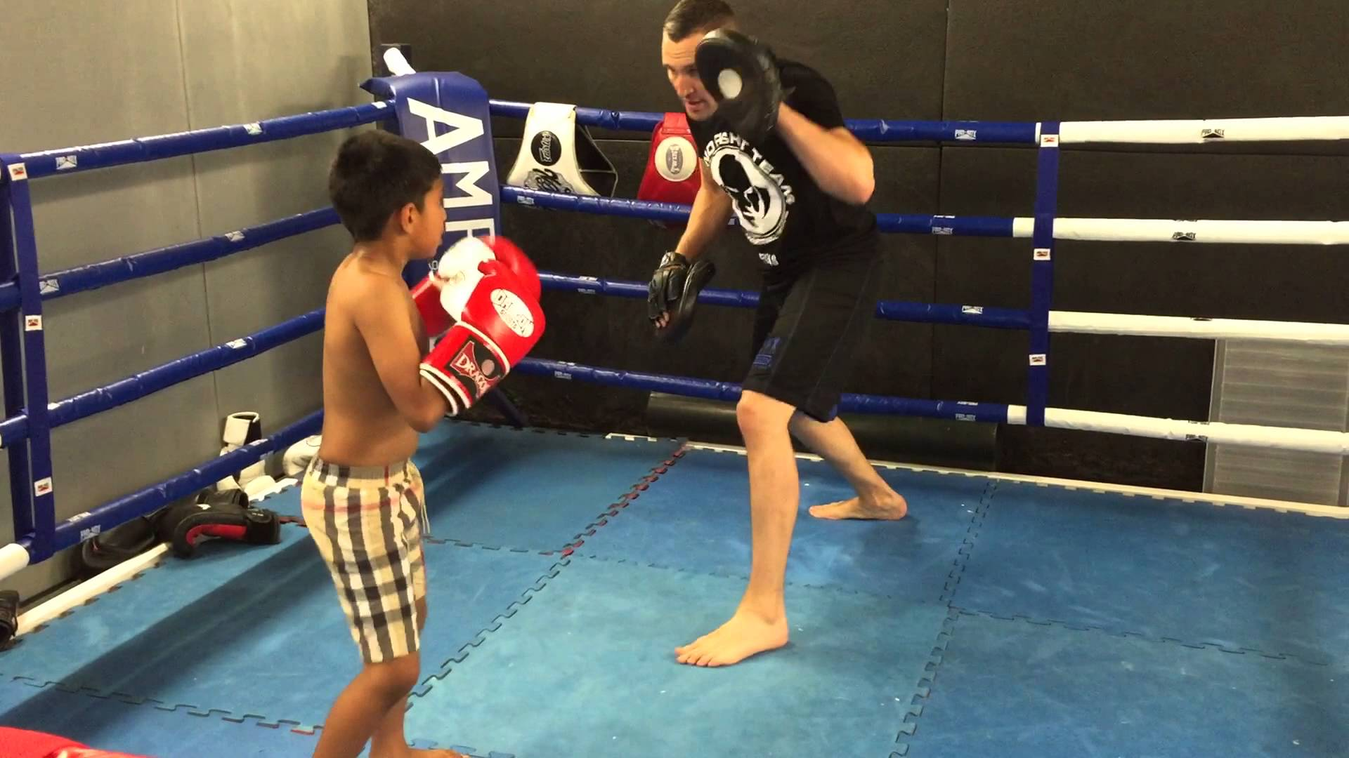 7 yr old Isa 'Monstro' Rahman Training Montage