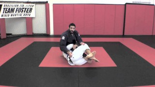 Deep Half Guard Escape to Back Take- James Foster