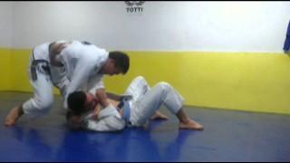 Lapel Choke from Side Control- Rodrigo Totti