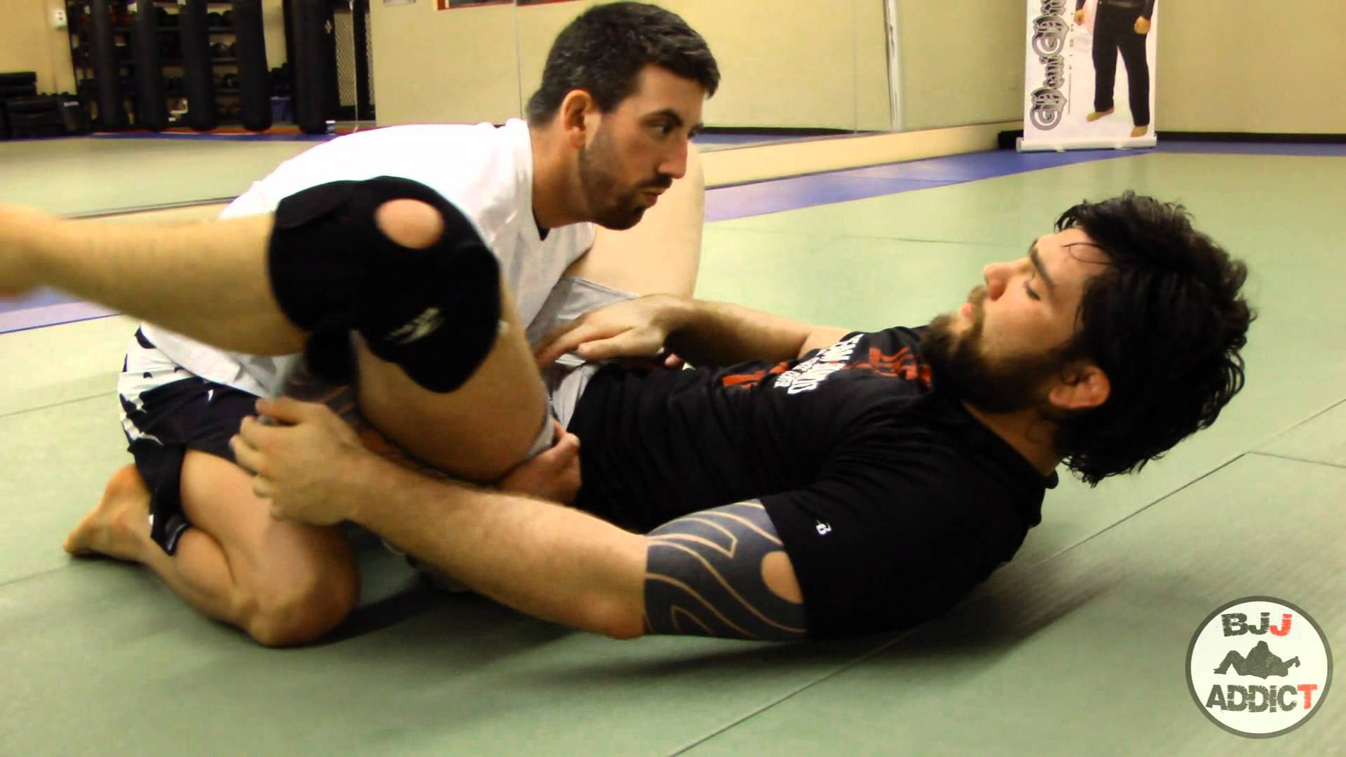 Painful Counter to Double Underhook Pass- Robert Drysdale