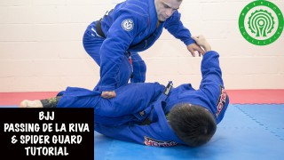 Passing De La Riva & Spider Guard Tutorial- Raphael Dos Santos