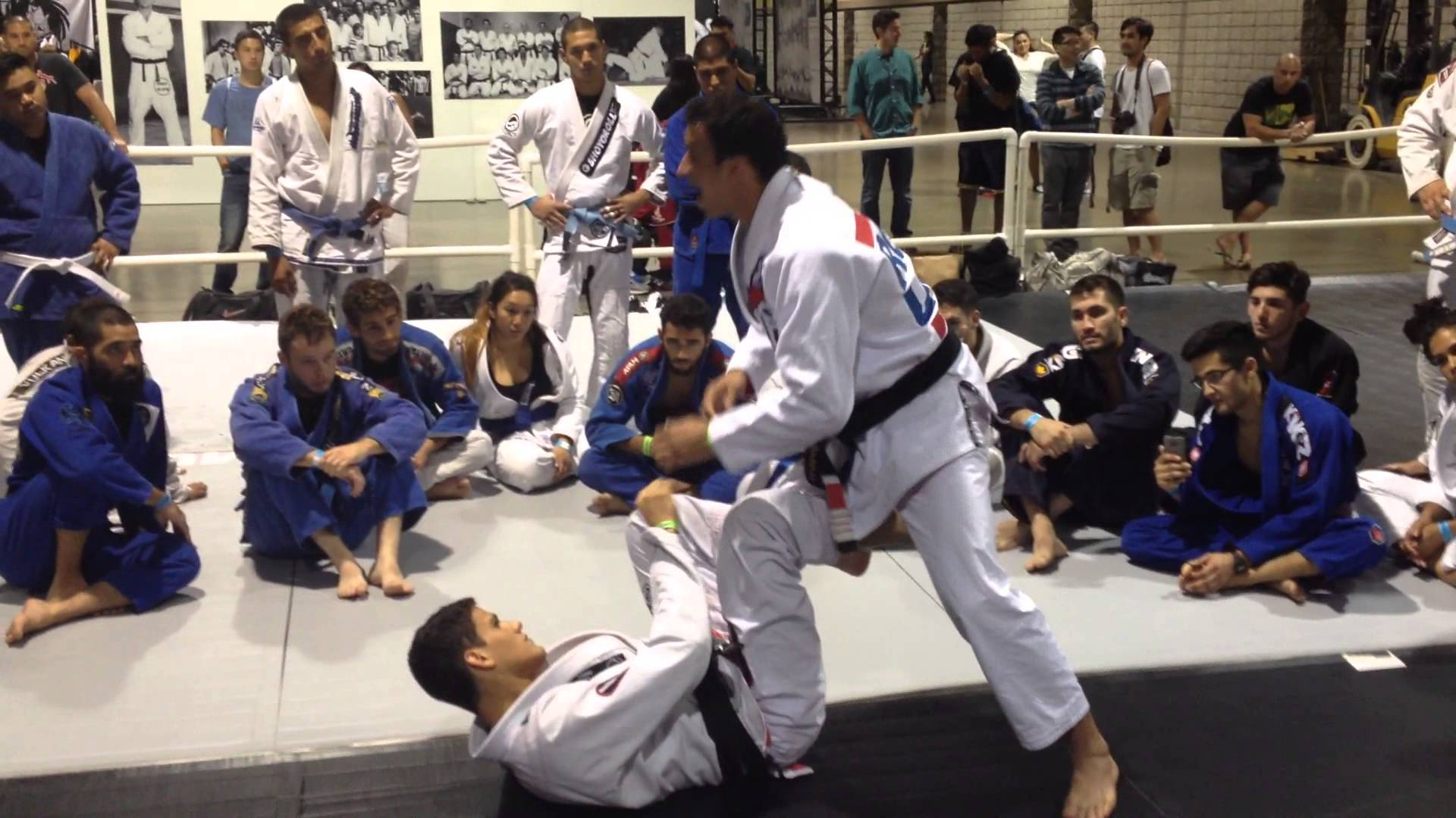 Side to Side Guard Passing Principles- Romulo Barral