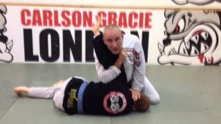 Simon Hayes (Carlson Gracie London) Shows a Spinning Armbar from Side Control