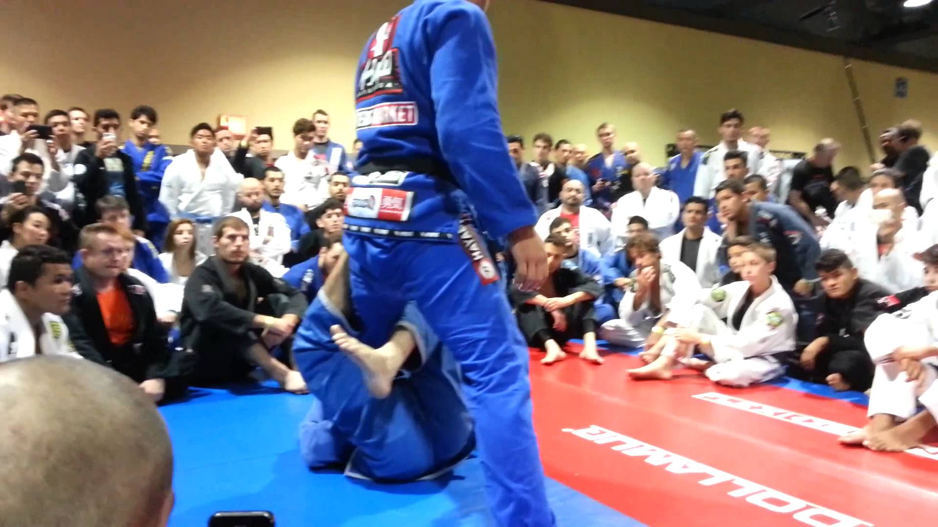 Taking the Back from Single Leg X Guard- Marcus Buchecha