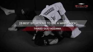 5 BJJ Wristlock Submisssions- Thiago Kozama
