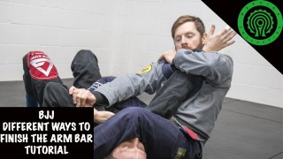 5 Different Ways to Finish the Arm Bar Tutorial