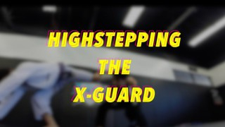 Highstepping: X Guard Passing Tutorial- Dominique Bell Atos Purple Belt World Champion
