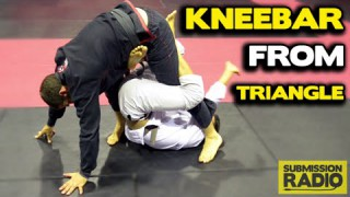 How to turn a Triangle Choke COUNTER into a KNEEBAR