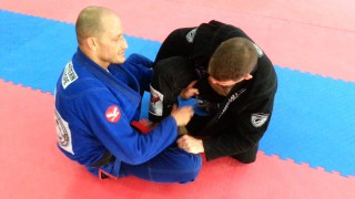 Lapel Sweep from Butterfly Guard- Dimitrios Tsitos