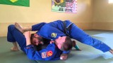 Lasso sweep to baseball bat choke