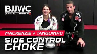 Modified Arm Triangle Choke- Mackenzie Dern + Augusto Tanquinho
