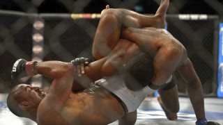 Sergio Moraes' Setup for His Mounted Triangle from UFC Rio