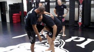 Single Leg Set Up from the Clinch- Luigi Mondelli