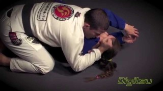 Sneaky Half Guard Pass To Far Side Ezekiel Choke- Augusto Tanquinho Mendes