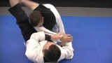 """Swivel triangle"" from double under guard pass defense"