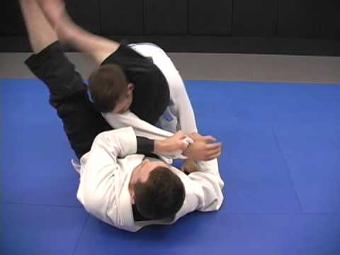 """""""Swivel triangle"""" from double under guard pass defense"""