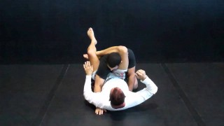 Vinny Magalhaes and his rubber guard, setting up and defending the triangle