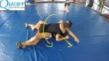 Arm Triangle to Sweep – Firas Zahabi