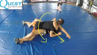 Arm Triangle to Sweep – Firas Zahabi