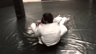 "Chris Light – ""Arm In"" rear naked choke + triangle combo"