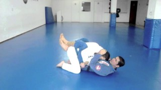 Double armbar from the Closed guard