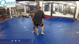 How to Pull into Leglock – Coach Firas Zahabi