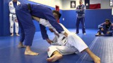Draculino – Knee on belly escape: Stiff arm to ankle pick sweep