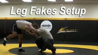 Leg Attack Fakes for Setup