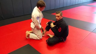 Leg Lace from X Guard & Ankle Lock