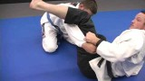 Shoulder lock from double under guard pass