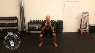 Thai Knee Kettlebell Flow