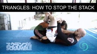 What to do when stacked while attempting the triangle