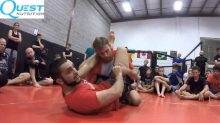 Firas Zahabi – Transitioning to Triangle from Closed Guard