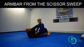 Intermediate Guard Attacks – Triangle/Armbar from the Scissor Sweep