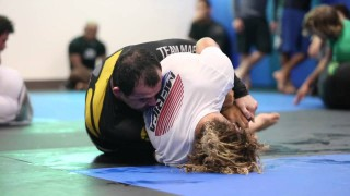 Marcelo Garcia training with Magid Hage IV