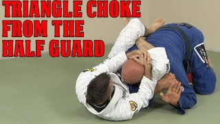 A High-Percentage Triangle Choke from Half Guard