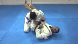 Alternative armbar from guard