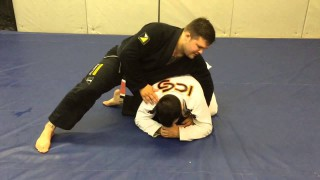 Brutal step over Clock choke