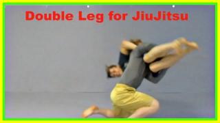 Double Leg for JiuJitsu – Lock hands, Pinch Knees, Flare Legs